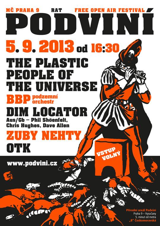 Plakát na Podviní 2013